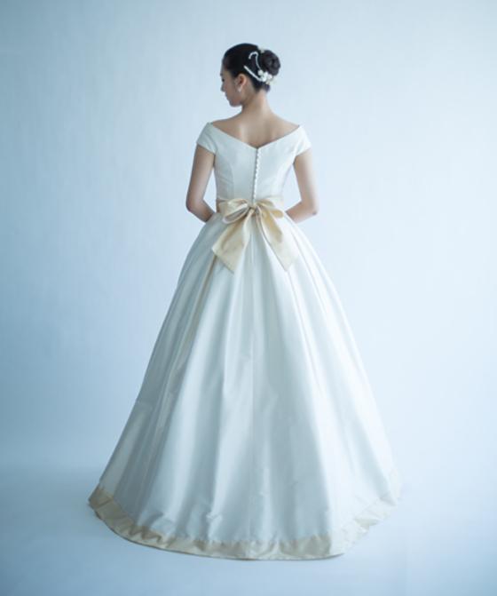 フレンチグラデーションドレス