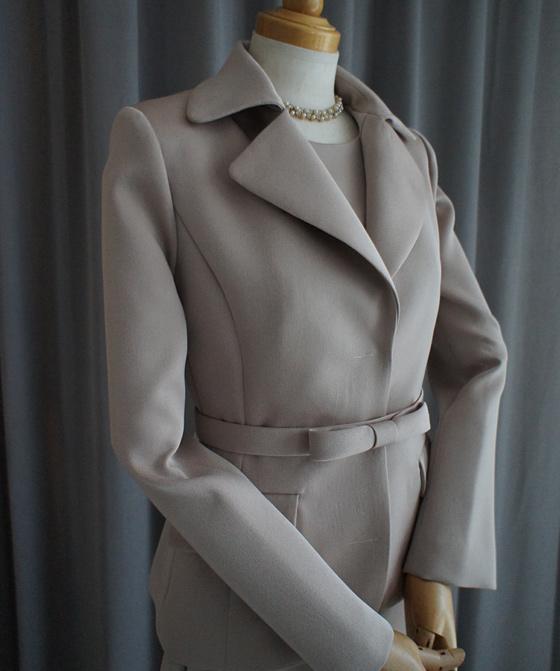 同素材テーラードジャケット